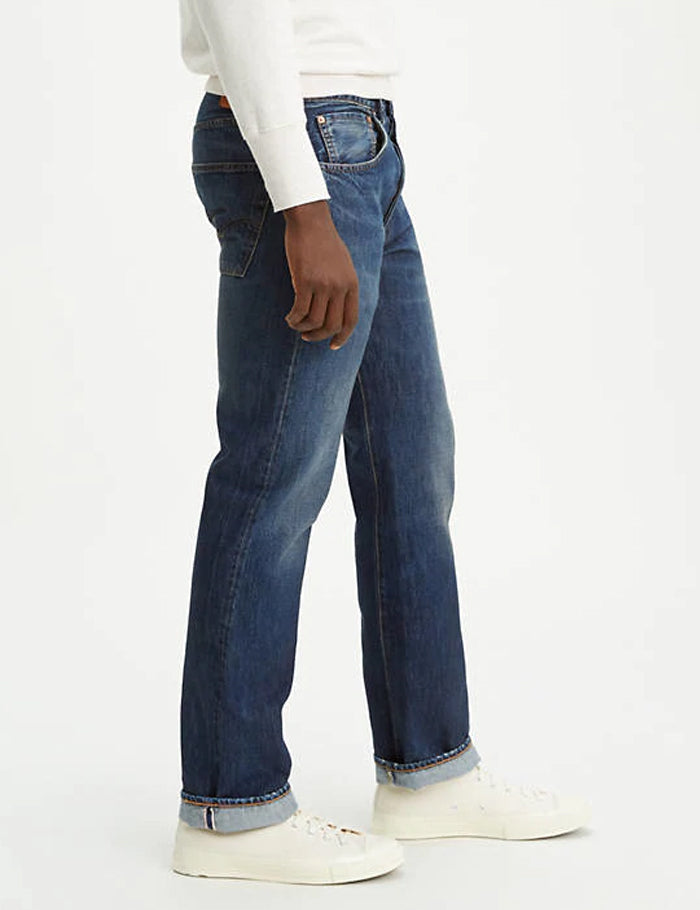 Levis Vintage Clothing 1947 501 Jeans - Dark Star Blue