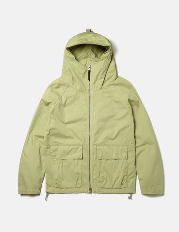 Albam Zipped Hooded Parka - Pistachio Green - Article