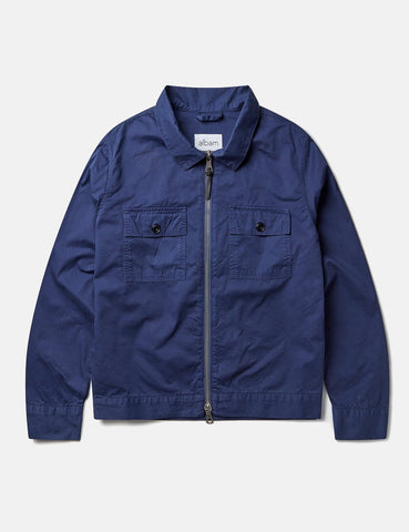 Albam Regent Blouson Jacket - Navy Blue - Article