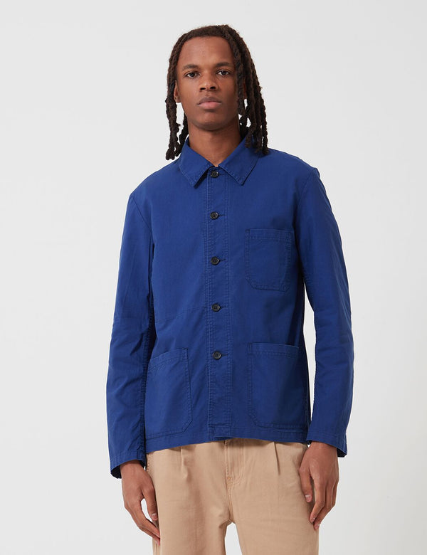 Vetra French Workwear Light Cotton Jacket (4N45) - Hydrone Blue