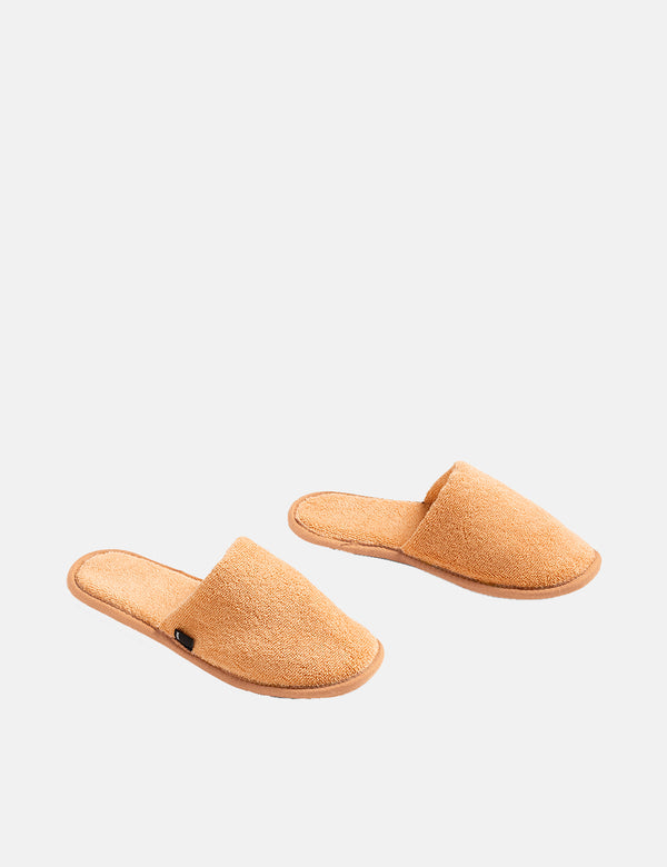 Hay Frotté Slippers - Warm Yellow