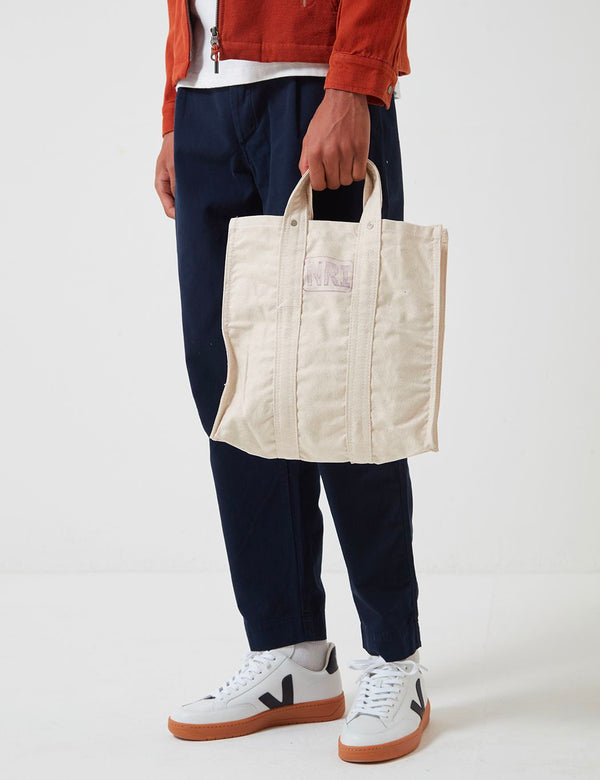 Puebco Labour Tote Bag (Small) - Off White