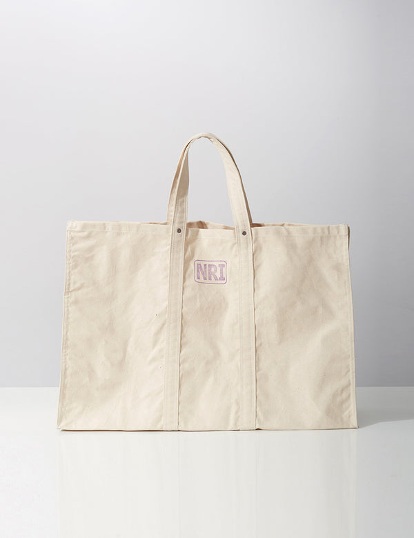 Puebco Labour Tote Bag (Large) - Off White