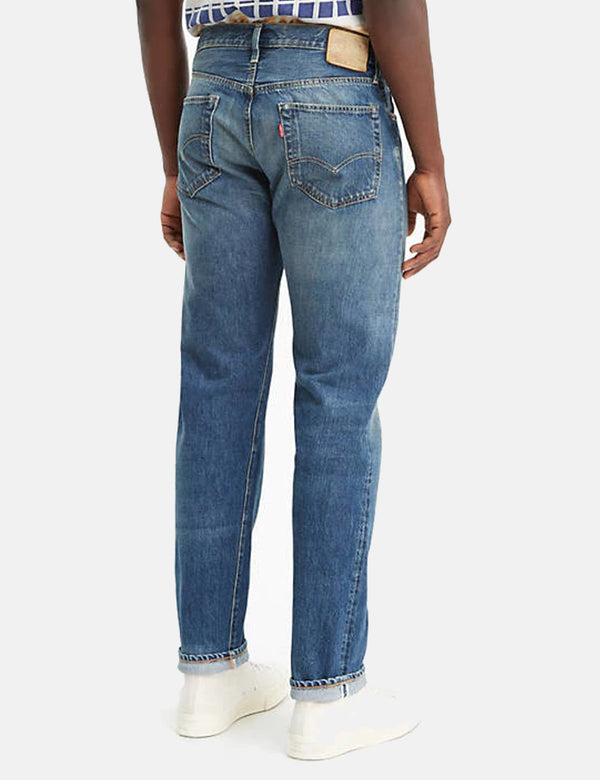 Levis Vintage Clothing 1954 501 Jeans - Pinwheel Blue