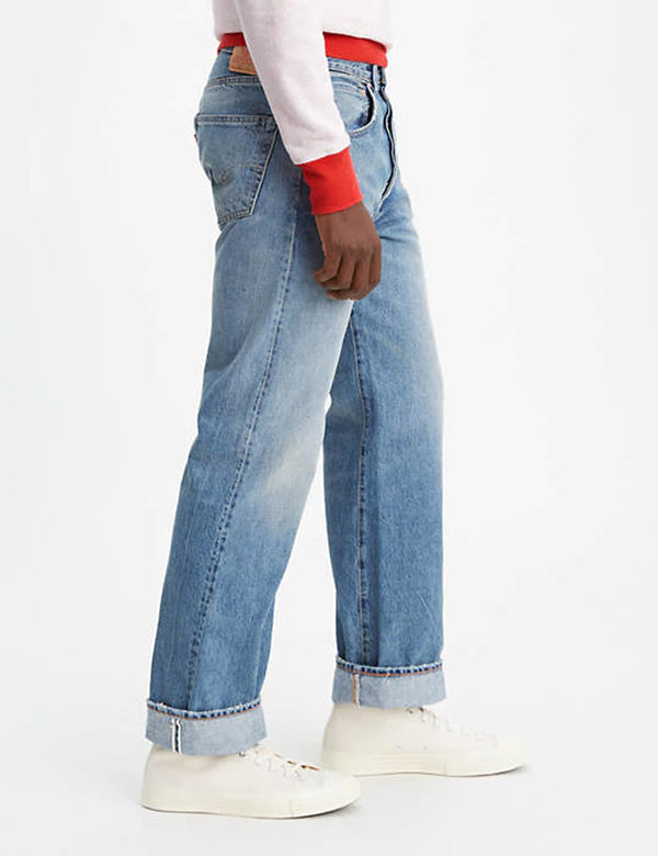 Levis Vintage Clothing 1955 501 Jeans - Mercury Blue