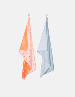 Hay Tea Towes (Set of 2) - Big Dots