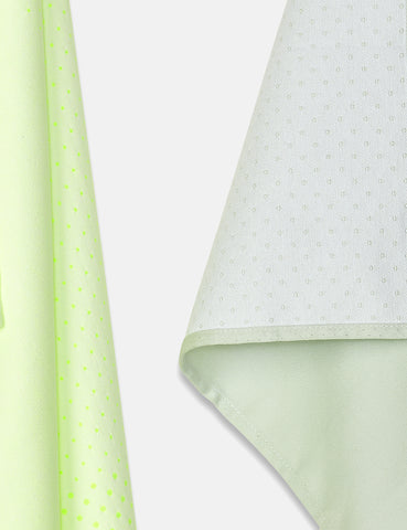 Hay Block Dots Tea Towel Set - Light Green/Yellow