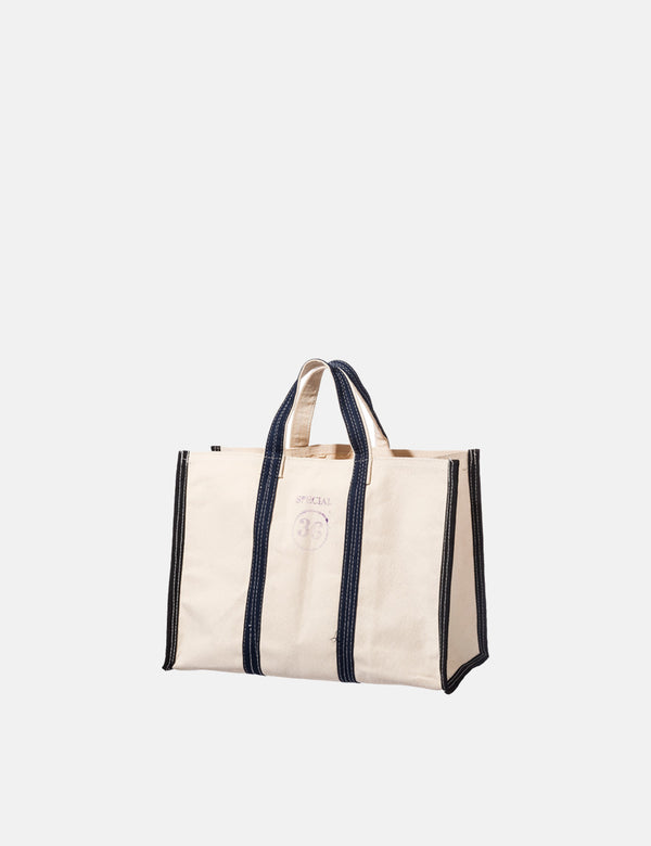 Puebco Market Tote Bag 36 (Small) - Off White
