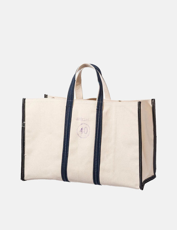 Puebco Market Tote Bag 40 (Medium) - Off White