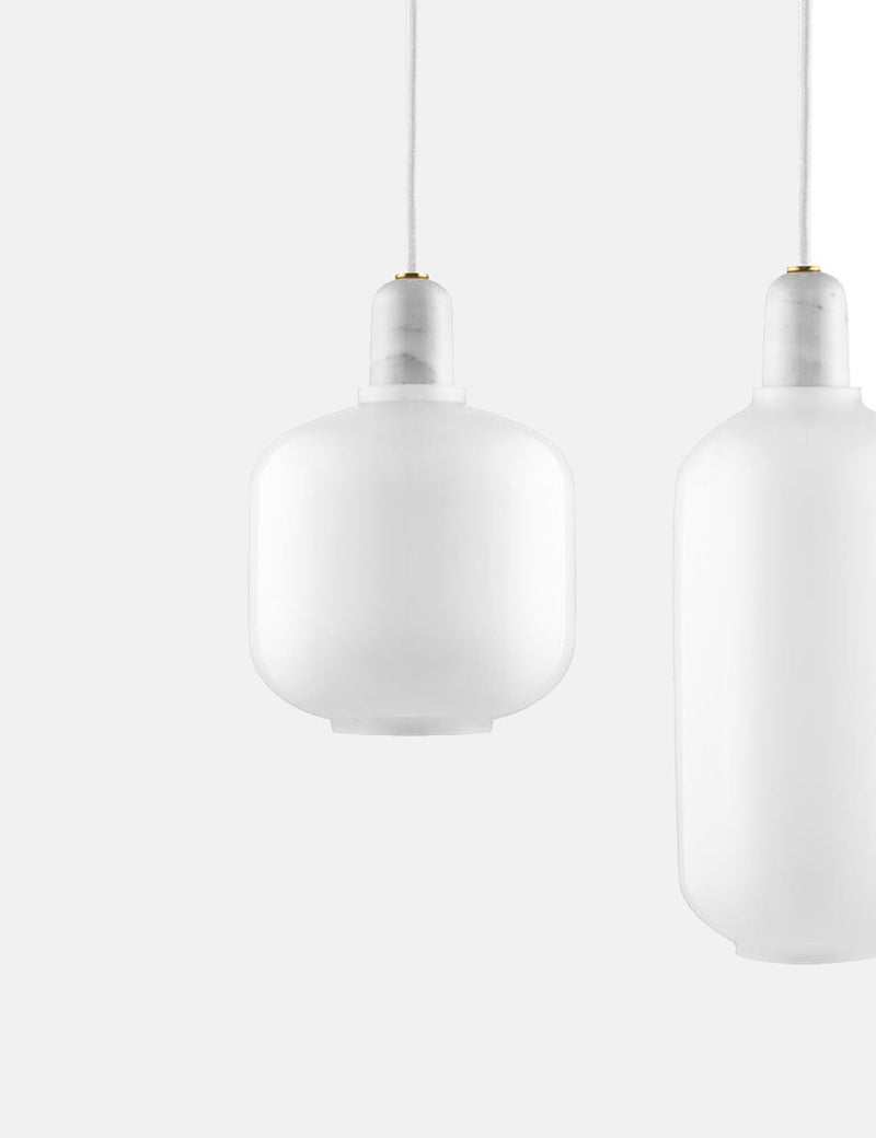 Normann Copenhagen Amp lamp EU (Small) - White/White