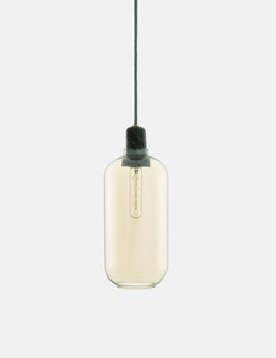 Normann Copenhagen Amp lamp EU (Large) - Gold/Green