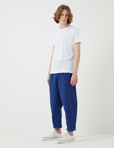 Albam Pleated Trousers - Navy - Article
