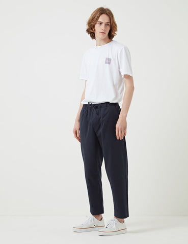 Albam Drawstring Trousers - Navy Blue - Article