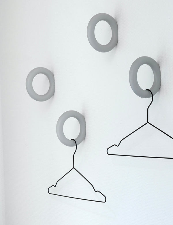 Hay Hang Coat Hangers (5er-Set) - Nackt