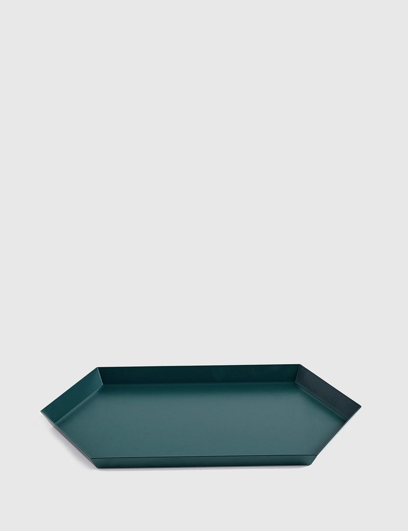 Hay Kaleido Tray Medium - Dark Green