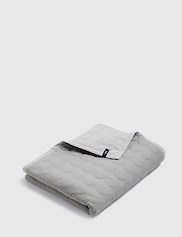 Hay Mega Dot Blanket (245 x 235cm) - Light Grey
