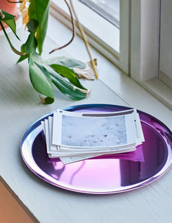 Hay Stainless Serving Tray - Rainbow