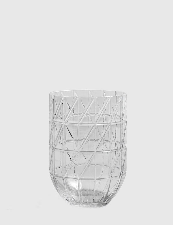 Hay Colour Glass Vase Large - Clear