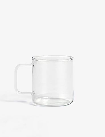 Hay Glass Coffee Mug - Clear