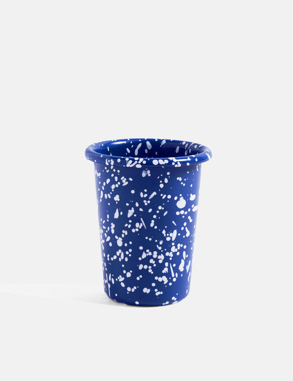 Hay Emaille Cup (Speckle) - Blau