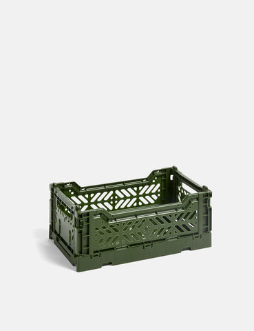 Hay Colour Crate (Small) - Khaki
