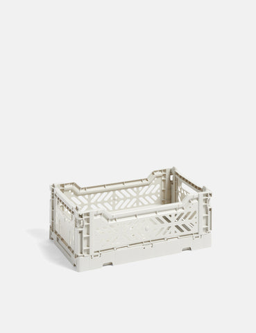 Hay Colour Crate (Small) - Light Grey