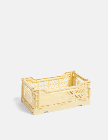 Hay Colour Crate (Small) - Light Yellow