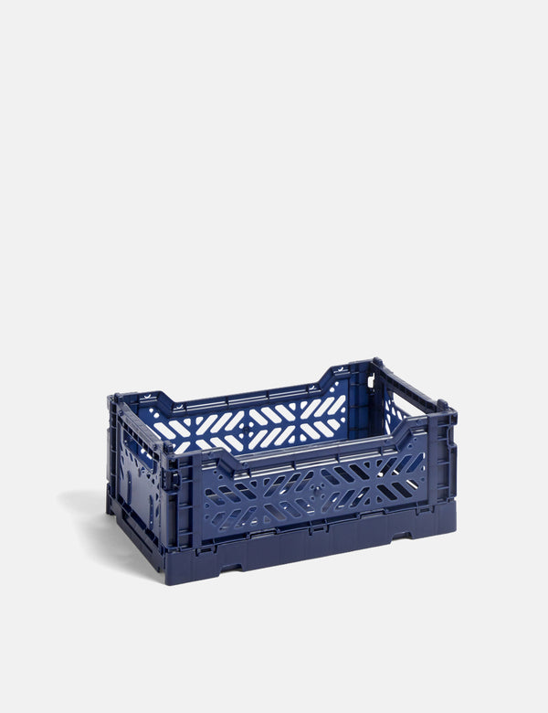 Hay Colour Crate (Small) - Navy