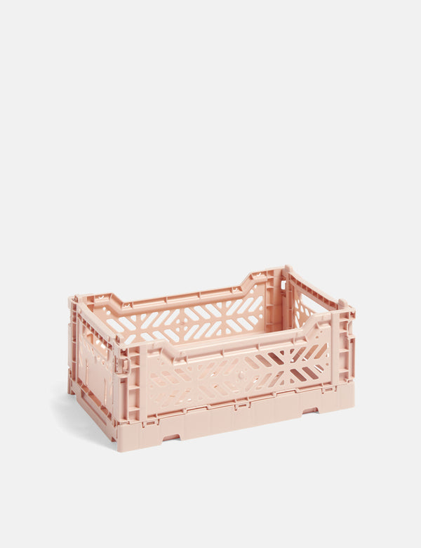 Hay Colour Crate (Small) - Nude Pink