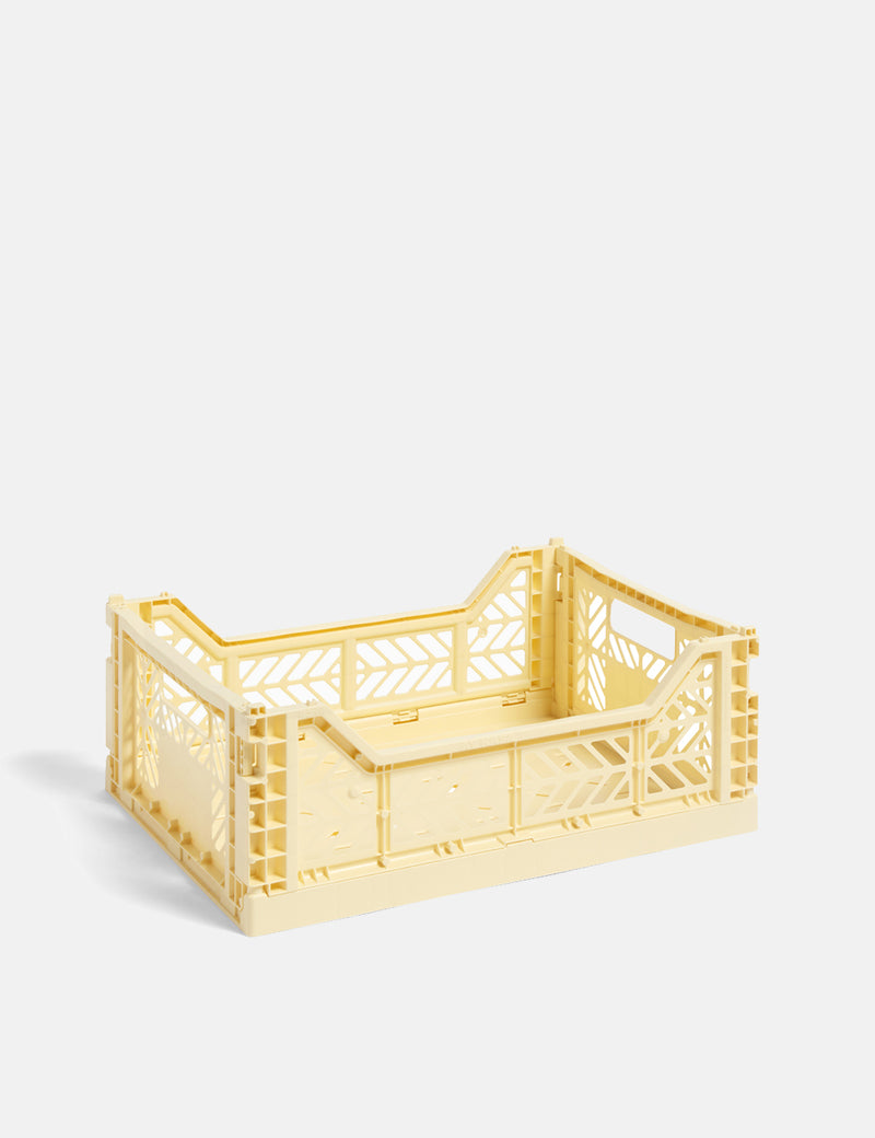 Hay Colour Crate (Medium) - Light Yellow