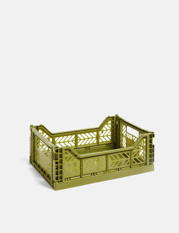 Hay Colour Crate (Medium) - Olive