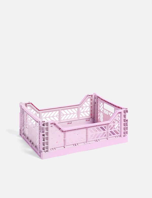 Hay Color Crate (Medium) - Lavendel