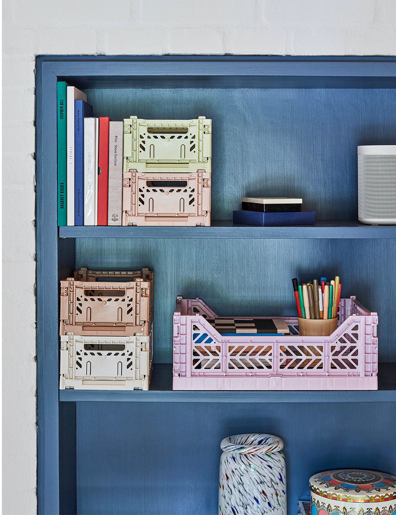 Hay Colour Crate (Medium) - Lavender