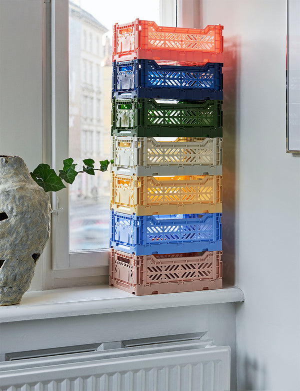 Hay Color Crate (Medium) - Hellblau