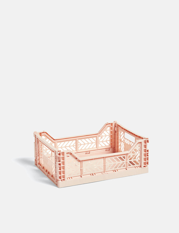 Hay Color Crate (Medium) - Zartes Rosa