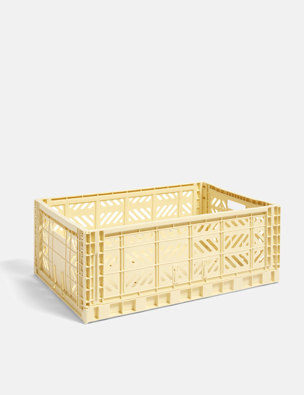 Hay Colour Crate (Large) - Light Yellow