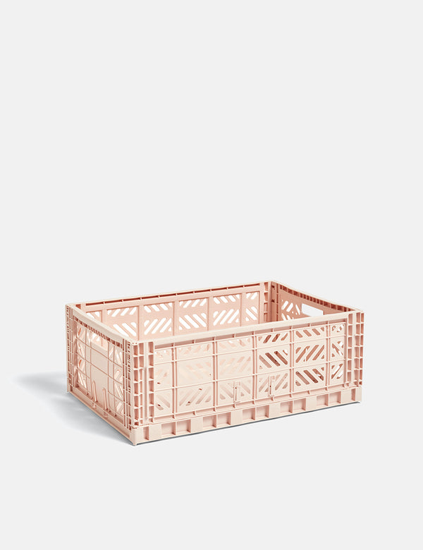 Hay Color Crate (groß) - zartes Rosa