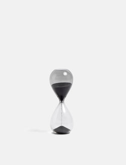 Hay Time Hourglass (Small) - Black