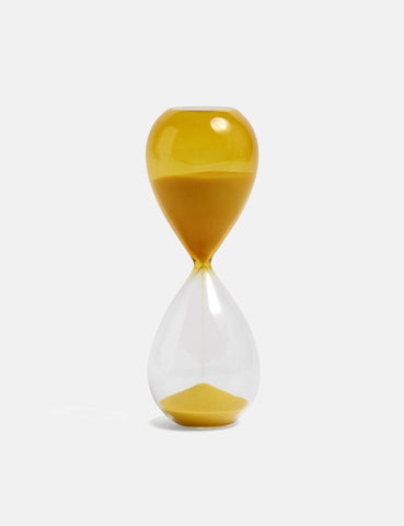 Hay Time Hourglass (Medium) - Yellow
