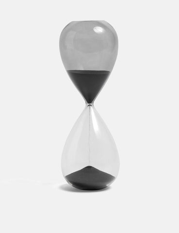 Hay Time Hourglass Large - Black