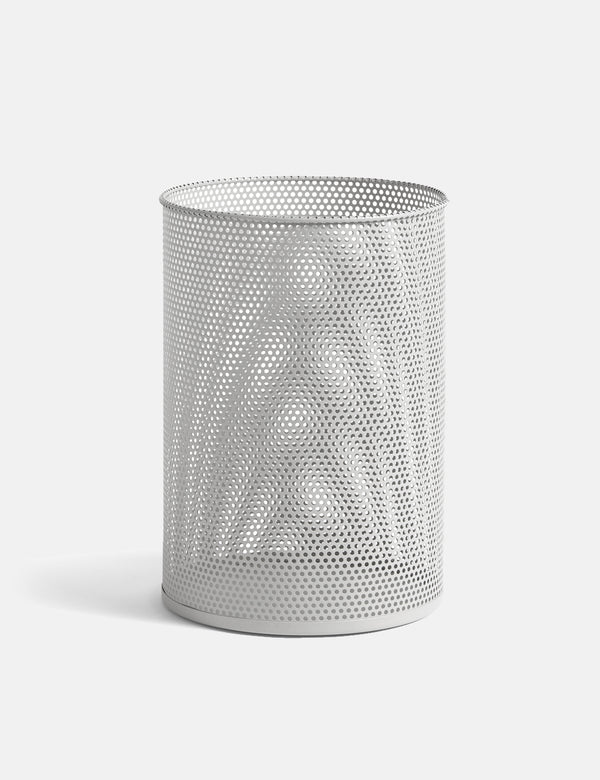 Hay Perforated Bin (Large) - Light Grey