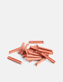 Hay Paquet Clips (18 Pieces) - Coral