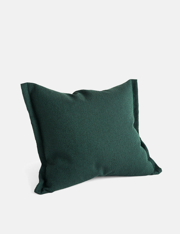 Hay Plica Sprinkle Cushion - Dark Green