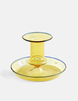 Hay Flare Candle Holder - Yellow