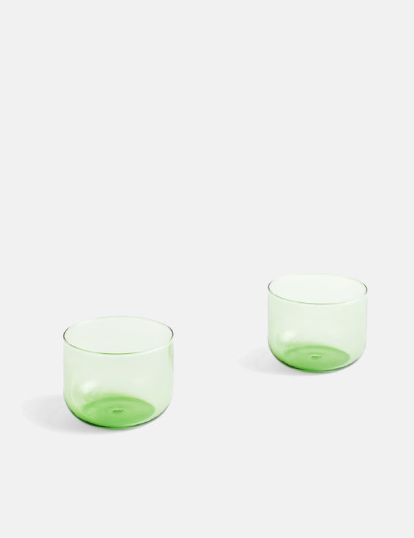 Hay Tint Glass (Set of 2) - Green