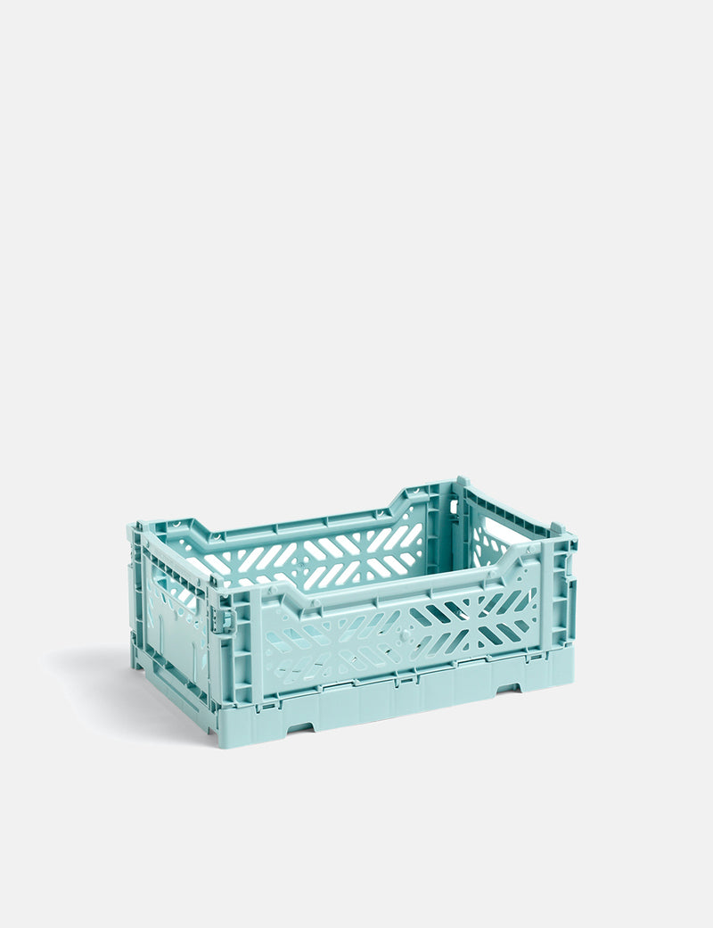 Hay Colour Crate (Small) - Arctic Blue