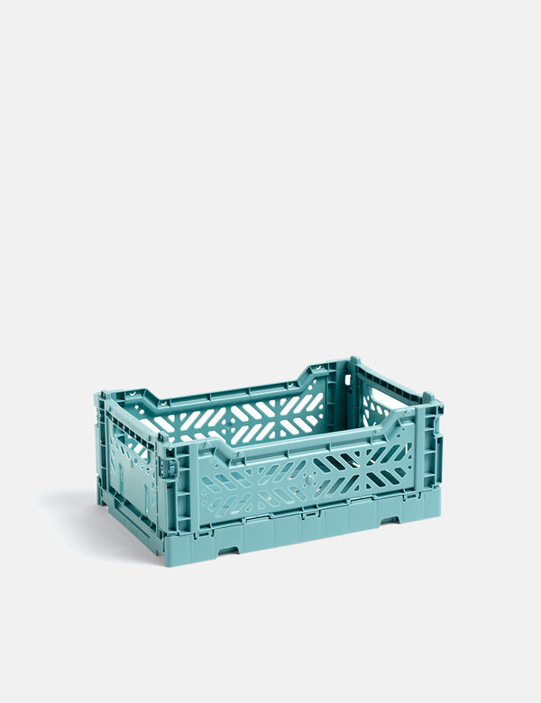Hay Color Crate (Small) - Blaugrün