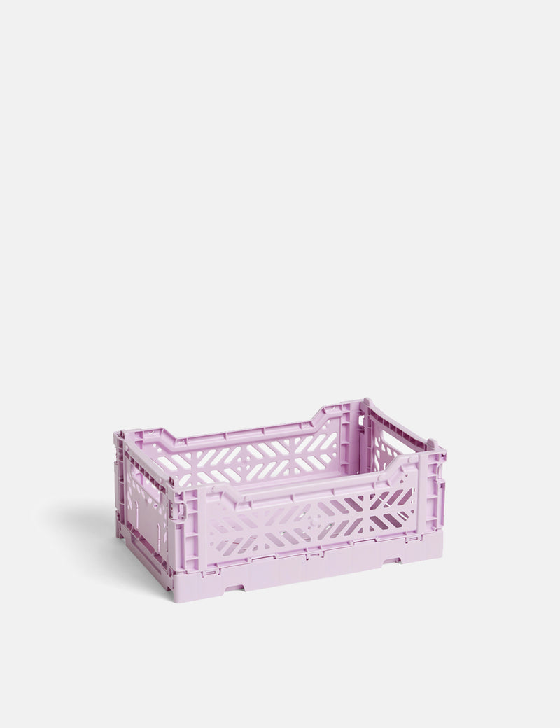 Hay Colour Crate (Small) - Lavender