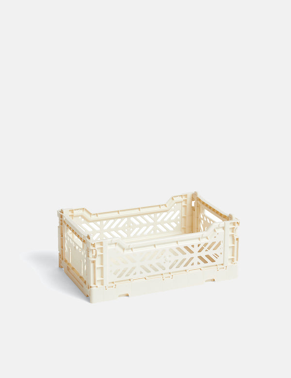 Hay Color Crate (Small) - Off White