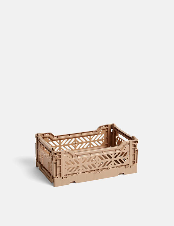 Hay Colour Crate (Small) - Nougat